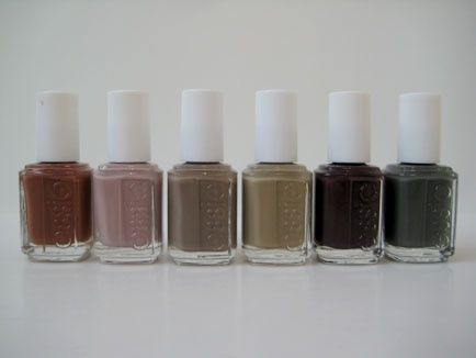 // Essie fall collection.