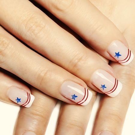 july 4th nail designs | Really Cool 4th of July Nail Art Design Ideas