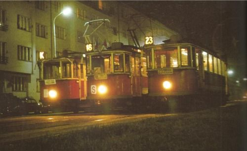Prague by tram: 9.5.1974 by I.Mahel