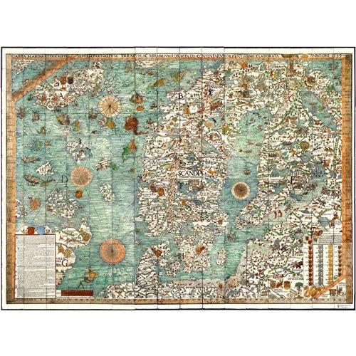 Marine Chart Mural