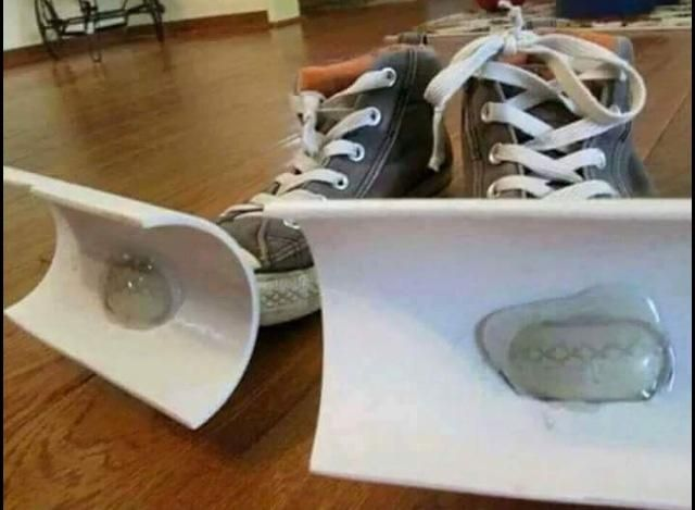Snowplough Shoes from Larry the Cable Guy