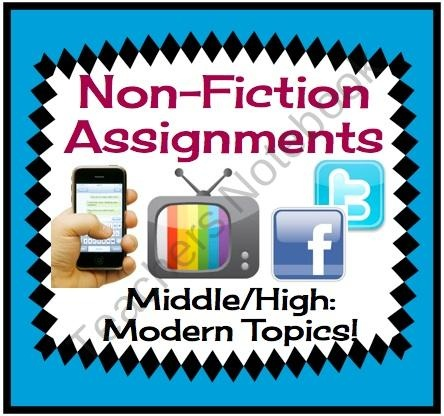 nonfiction write-up assignment
