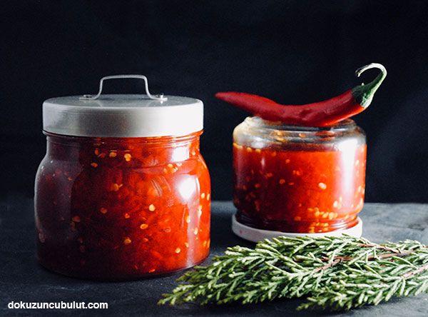 Fermente acı biber reçeli