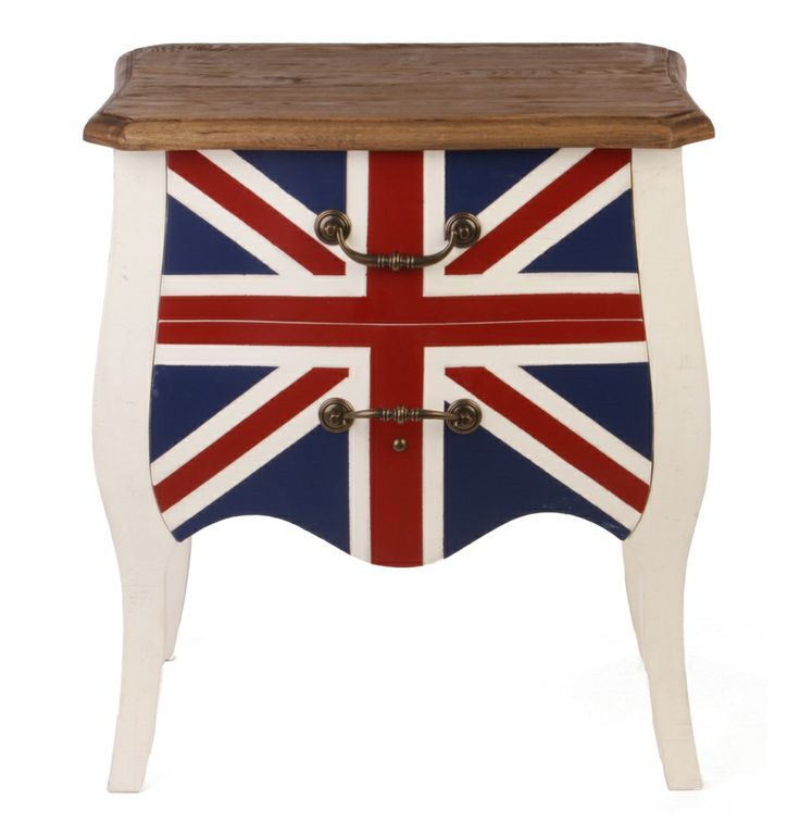 Union Jack Bedside - Matt Blatt