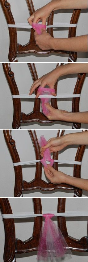 Art How to Make a Tutu -knot your strips diy