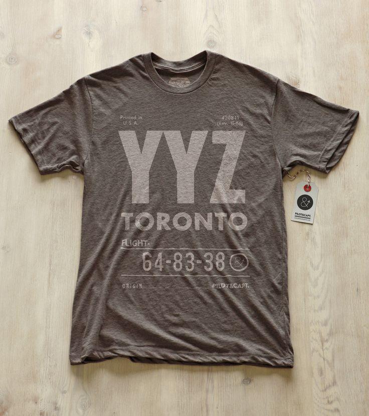 YYZ style #tshirt