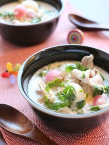 七草・ごま豆乳鍋。 by かすが きょうこ | レシピサイト「Nadia | ナディア」プロの料理を無料で検索
