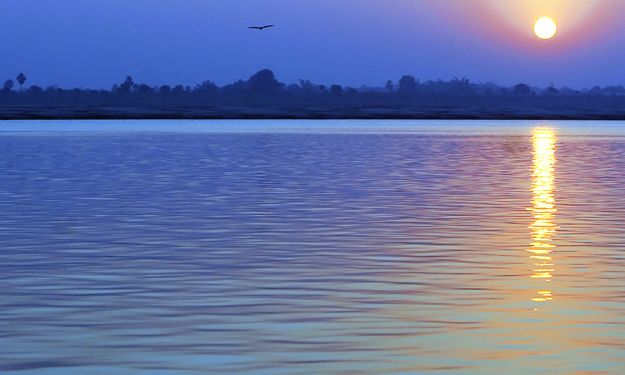 Sunrise on the Swan River Perth