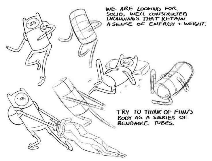 Como desenhar os personagens de Adventure Time