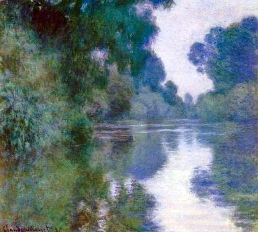 Παραπόταμος του Σηκουάνα κοντά στο Ζιβερνί (1897)