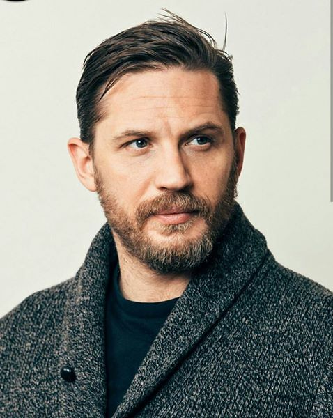Tom Hardy - NY Times - January 2017