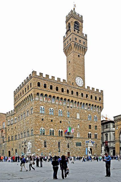 Palazzo Vecchio, Florence - Italy