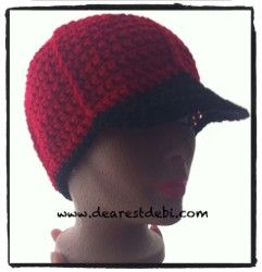 Whether or not he's heading to the baseball stadium this summer, this Simple Baseball Cap is a great crochet hat pattern to make for the special man in your life. He'll love wearing this two-toned hat around town.