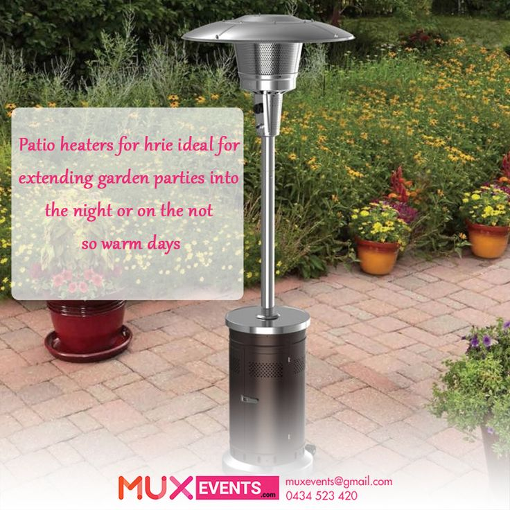 Marquee Patio Heater Hire In Melbourne From Mux Events