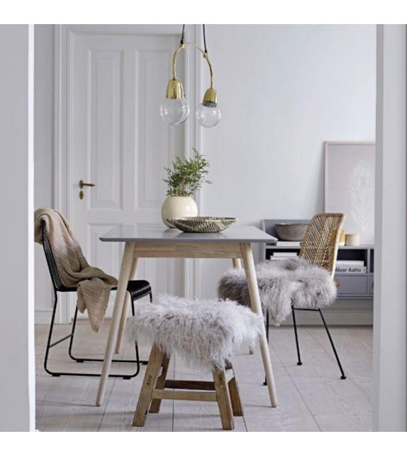 Lot De Chaises En Rotin Design Lena Chair De La Marque