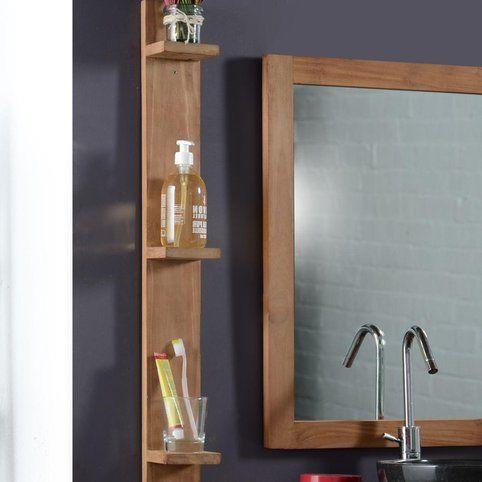 55 best Projet SDB images on Pinterest Bathroom ideas, Bathroom - teck salle de bain sol