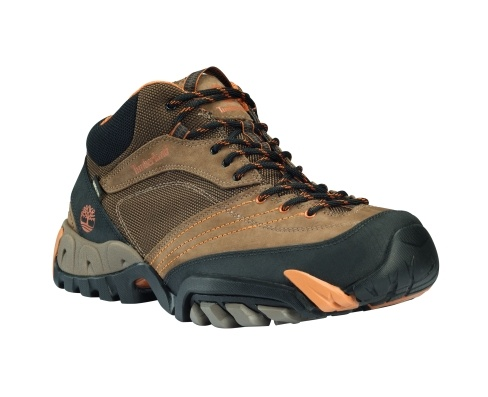Timberland Men's Pathrock Mid with Gore-Tex® Membrane Boot - Style: 67100 // Rising to the ankle for protection on the trails, this boot is a hard-wearing hiker designed for maximum on-trail performance.