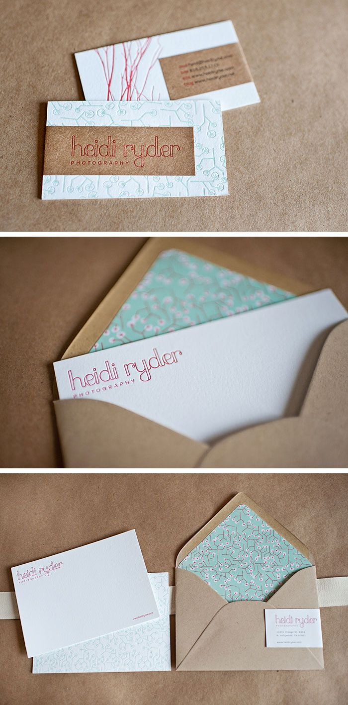 59 best business cards crafty images on pinterest business card heidi ryder business cards in envelopes reheart Gallery