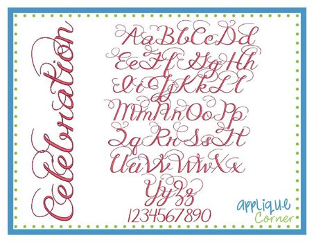 Best Embroidery Fonts Images On   Embroidery Fonts