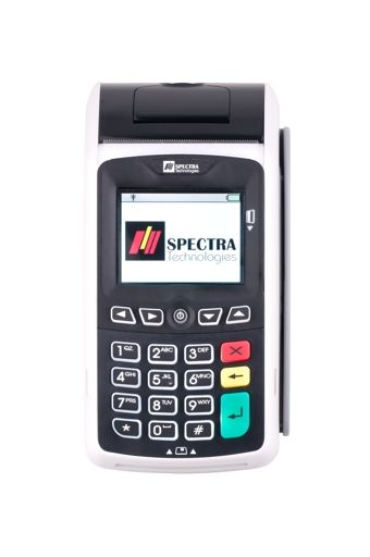Latest paymark approved Spectra T1000 Eftpos Machine. Features :  Contact-less , Fast transaction processing and many more...