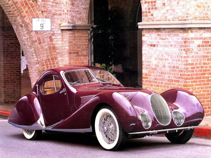 Talbot Lago T150C Figoni et Falaschi 1938 I've seen this car at a museum. It's gorgeous!