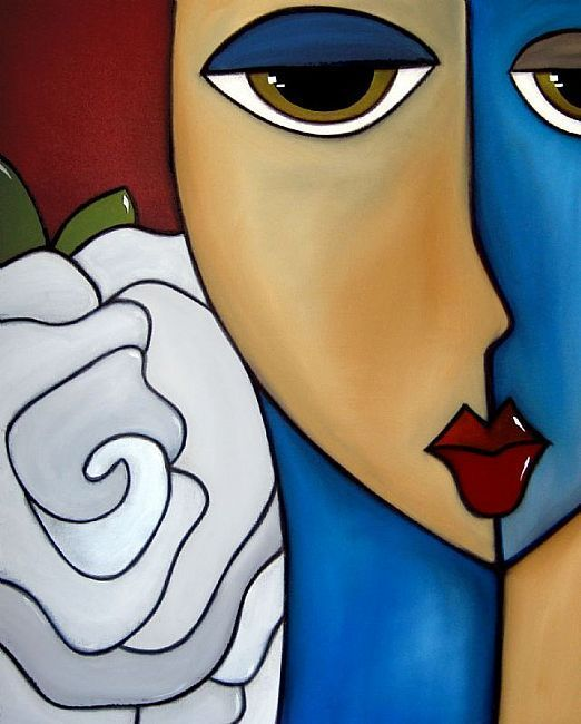 """Paper Roses"" by Thomas C. Fedro"