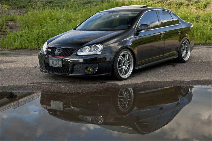 Volkswagen Jetta GLI on Enkei RPF1 Wheels