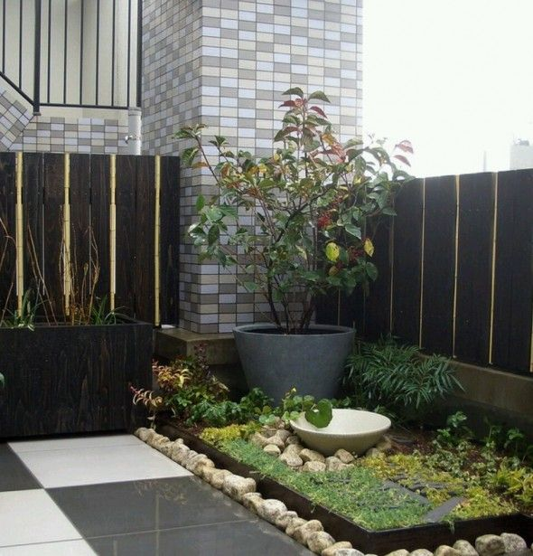 17 best ideas about minimalist garden on pinterest modern gardens contemporary gardens and - Gardening for small spaces minimalist ...