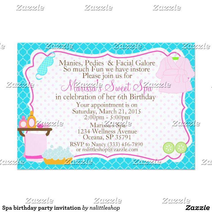 Les 25 meilleures idées de la catégorie Invitations de la fête de ...