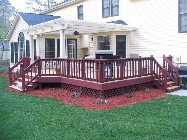 backyard decks | Gallery Tonn Trellis – Backyard Structures