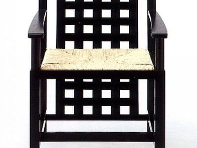 Rennie Mackintosh style chair. Incredible.