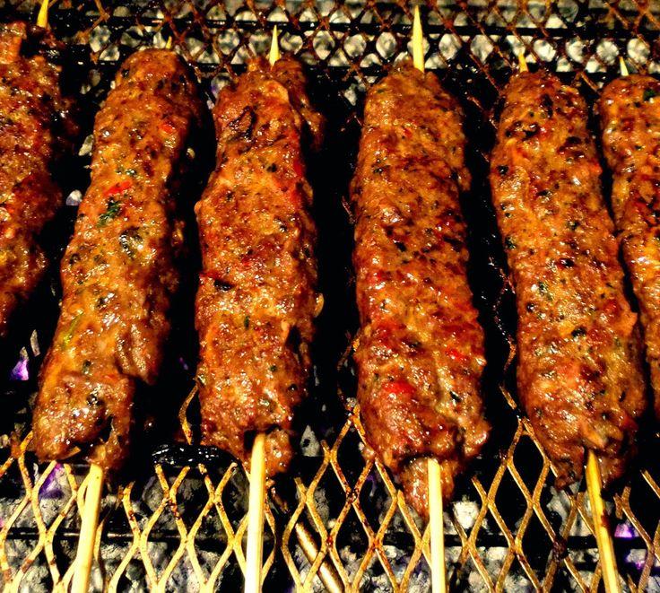 Forking Foodie: Turkish (Lamb) Adana Kebabs / Kofta Kebabs - the Really Mouth-Watering Recipe... (AKA How to be a Kebab King/Queen!)