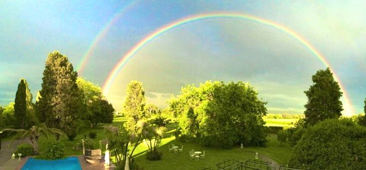 ARCOBALENO IN PANORAMICA