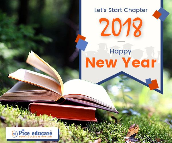 Unfold new beginnings & opportunities with Pice Educare. #HappyNewYear #2018