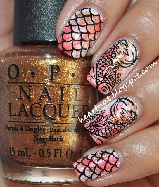 78 best Stamping nail art inspiration images on Pinterest | Stamping ...