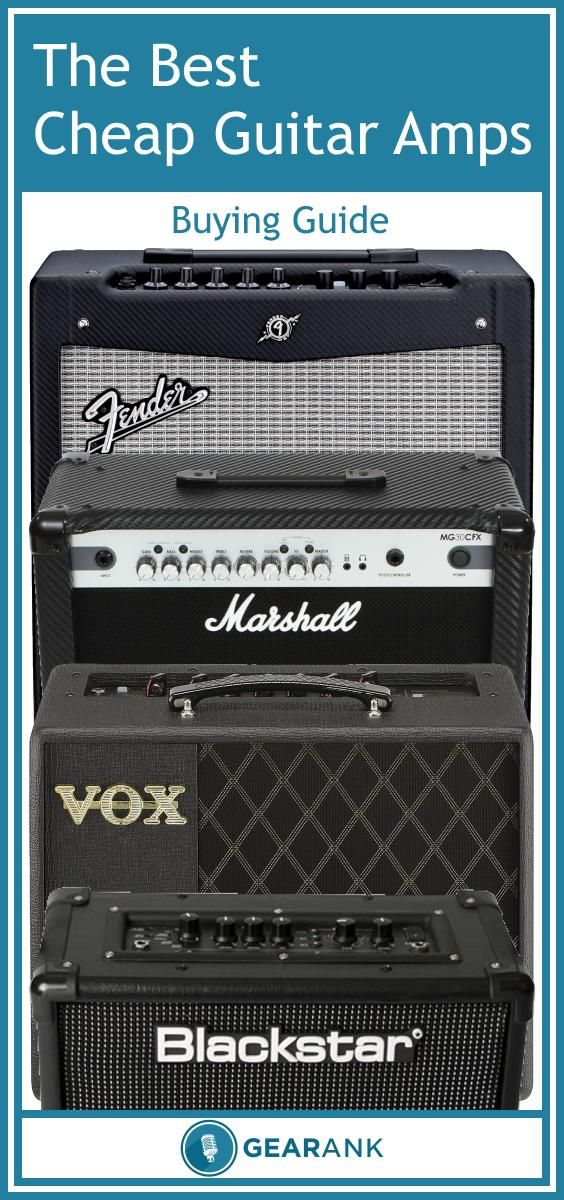This is a great guide for anyone who wants to buy a new guitar amp for less than $200.