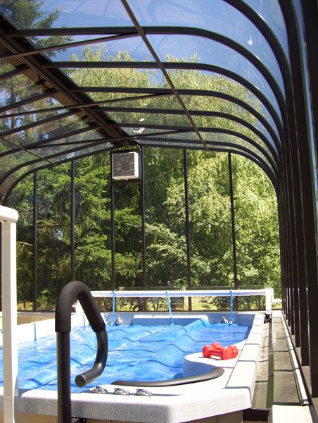 Hmm.. sunroom with hot tub & an endless pool? | Creative ...