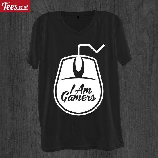 Gamers dari Tees.co.id oleh Rizkynation