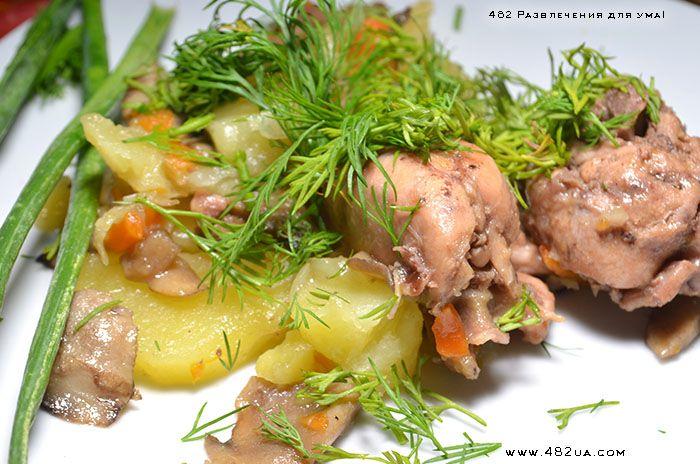 Рагу овощное с кроликом (Оригинальный рецепт)