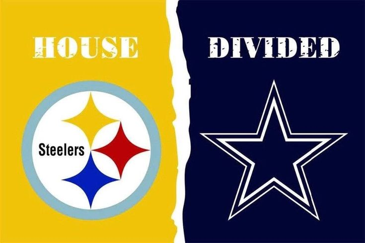 $11.99 NFL Pittsburgh Steelers Dallas Cowboys House Divided Flag 3 x 5 ft, 2 Grommets, 30+ Football Team Options, Rivalry Banner  #collectibles #gold #birthday #valentinesday #blue #pittsburgh #dallas #steelersflag