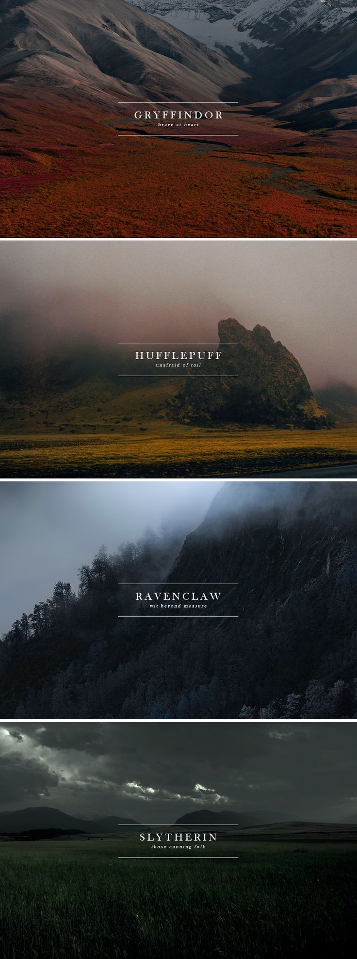 HP HOUSES & nature aesthetic