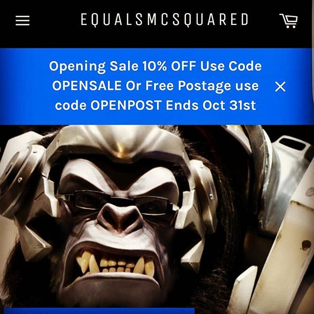 zpr Check out our brand new merchandise by going to www.equalsmcsquared.com #emcs #new #ecommerce #estore #overwatch #sale #spotify #shirts
