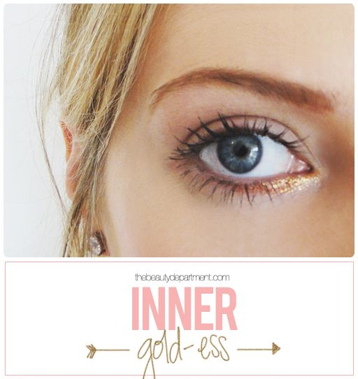 If you're a tired of the same old same old… try this little gem! It's daring yet subtle and perfect for your trendsetting self… not to mention really pretty on all skin tones! Steps + full face look just went up on thebeautydepartmentcom!