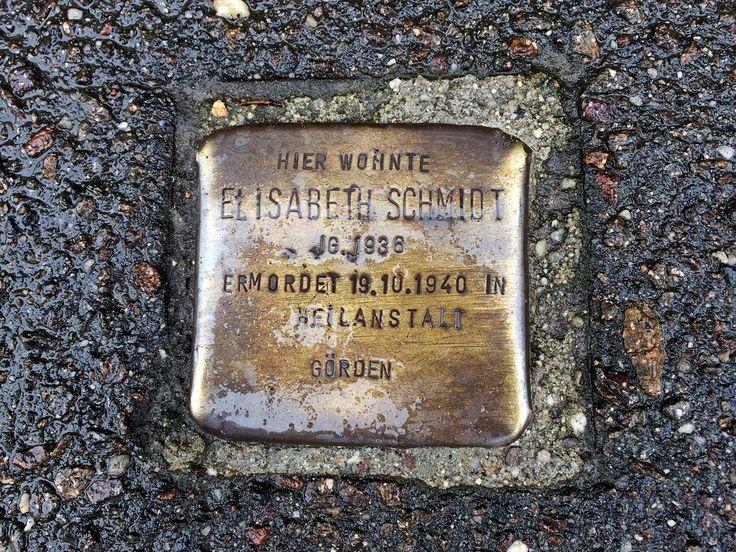 Remembering Elisabeth Schmidt  Stolpersteine in Berlin