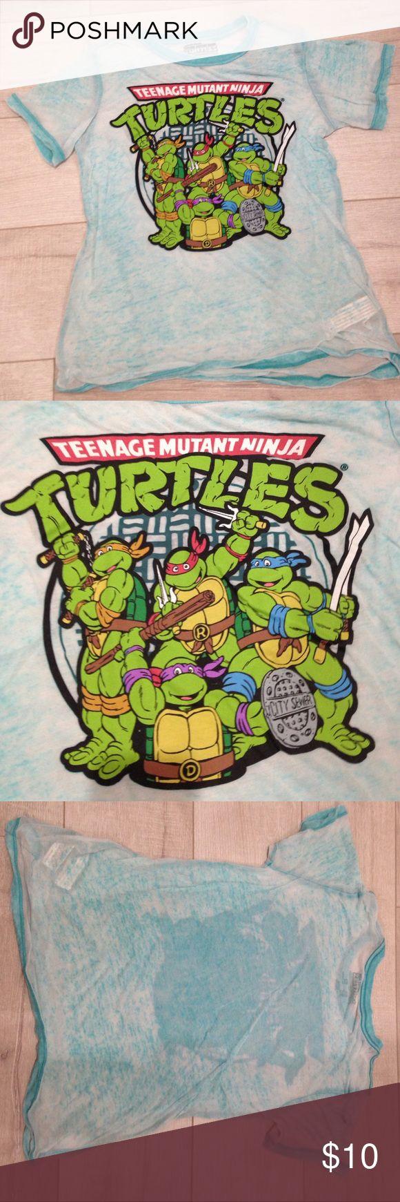 Warning turtles amp tortoises inc - Women S Teenage Mutant Ninja Turtles Tee