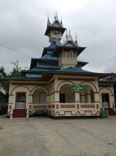 Masjid Saadah Gurun Batusangkar West Sumatera