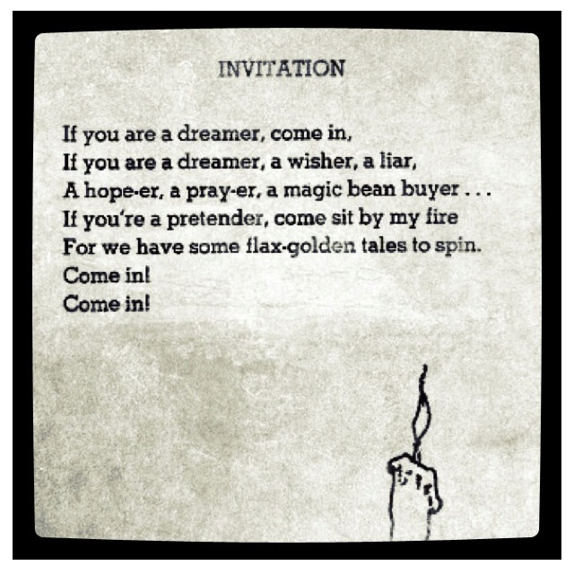 Invitation Shel Silverstein Dont You Forget About Me