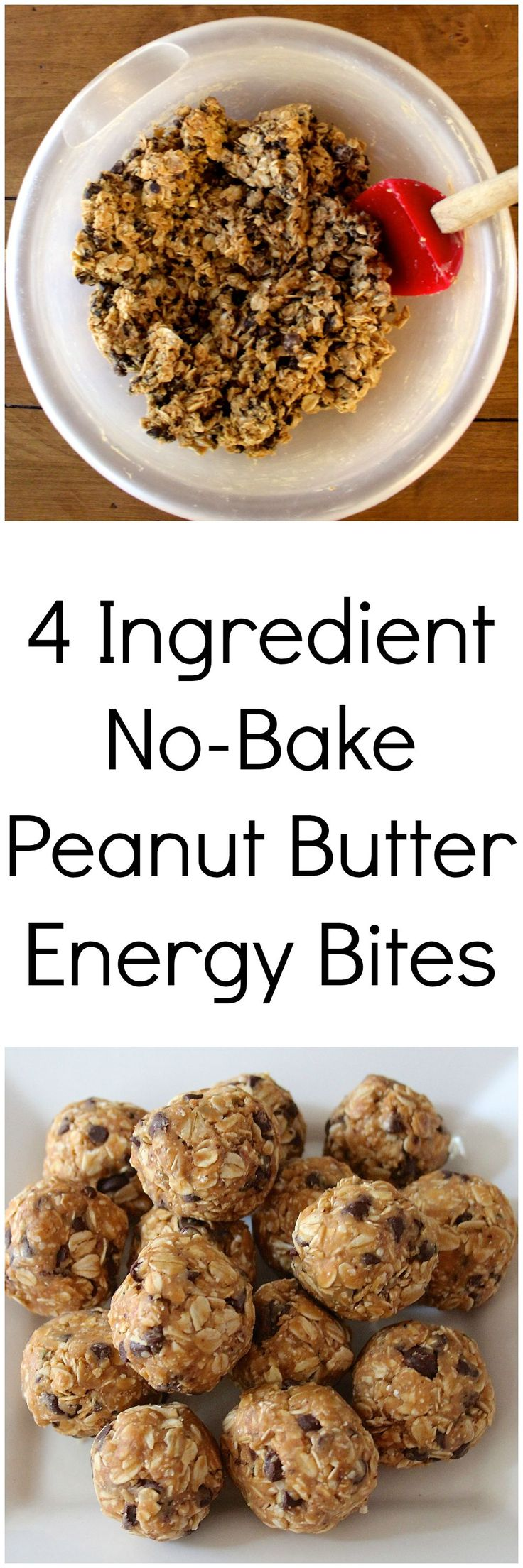 Healthy energy bites that taste just like peanut butter oatmeal cookie dough! Easy enough to make in a college dorm room.