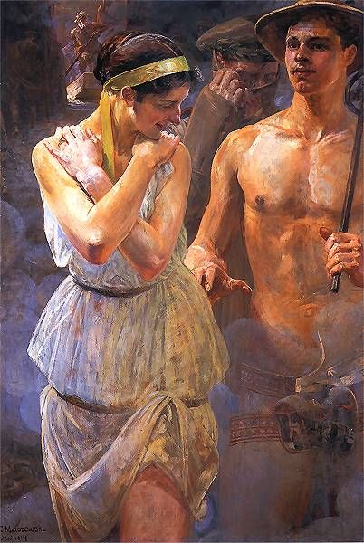 """Jacek Malczewski """"Polonia"""", 1914"""