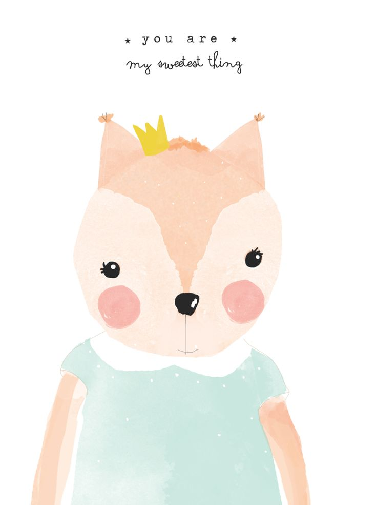Foxie via catita Illustrations . Click on the image to see more!